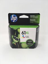 NEW HP 61XL Tricolor Ink Cartridge(CH564WN) High Yield, OEM Sealed Exp. 9/2019
