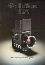 Vintage Manuals and Guides for Rollei Camera