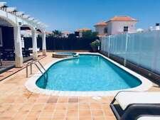 4 bedroomed 8 Person Luxury Villa Caleta De Fuste Fuerteventura MAY HALF TERM