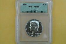 1964 Kennedy Half Dollar ~ ICG PR 69