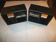 Open Stock -  Lot of TWO (2) 30 CD Black Plastic Jewel Case Holder Storage Rack