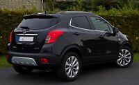2012-2016 Vauxhall Opel Mokka-Mokka X Marco Ventana Recortar Cromo S. Acero 8