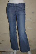 7 FOR ALL MANKIND W 29 Taille 38 Superbe pantalon jeans jean denim bleu DOJO