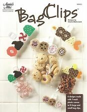 Bag Clips Plastic Canvas Patterns Annie's Attic Cute Candy Desert Themed