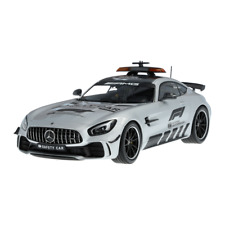 Mercedes AMG C 190 - AMG GTR Coupe Safety Car 2019 Formel 1 Silber 1:18 Neu OVP