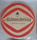 1 ancien Sous-bocks bière Adambrau lot 2