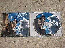 "NIKKI SIXX JAMES MICHAEL DJ ASHBA ""SIXX AM"" SIGNED CD COVER  coa #2"