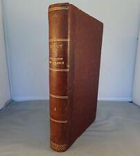 M. GUIZOT / HISTOIRE DE LA CIVILISATION EN FRANCE T4 / 1843 DIDIER