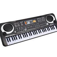 61 teclas de música digital, teclado electrónico tablero clave piano BF