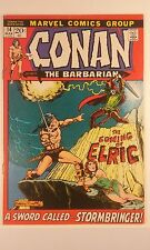Conan The Barbarian #14 Barry Smith Cover Art (9.6 NM+ OW/P) Brilliant Ink!!
