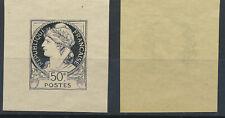 FRANCE - Concours de 1894 - 50c noir non émis