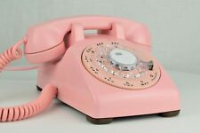 Professionally Restored - Antique Telephone - Western Electric 500 - PINK! - NOS