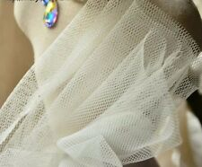 peticoat tulle, hard netting, Ivory super quality, 150cm wide, sold by 0.5 yard