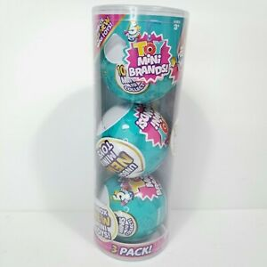5 Surprise Toy Mini Brands Ball Capsule Collectible Toy 3 Pack by ZURU NEW