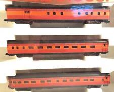Arnold /Rivarossi #0514-N scale Passenger Lightweight, Smoothside SoPac 3car NIB