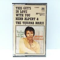 This Guys In Love With You - Herb Alpert & The Tijuana Brass Cassette Tape