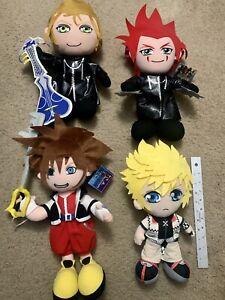 Kingdom Hearts II 2 Axel Sora Roxas Demyx Plush NWT Rare 13 Inch 2006-7 W/ Tags