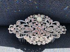 Disney Inspired Wedding Accessory-Hidden Mickey Bridal Comb-Disney Cruise
