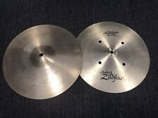 "Zildjian 14"" A Quick Beat Hi Hat Cymbals. Great Condition."