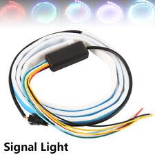 "47 ""RGB LED franja coche cola trasera tronco de luz de freno de flujo señal 12V"
