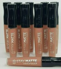 10 X RIMMEL STAY MATTE LIP CORAL NUDE *BE MY BABY*  WHOLESALE JOB LOT COSMETICS