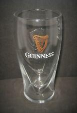Single Guinness Embossed Harp Pint Glass Brand New 20oz 100% Genuine