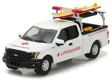 GREENLIGHT 29899 2016 FORD F-150 WITH LIFEGUARD & ACCESSORIES DIECAST 1:64