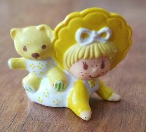 Strawberry Shortcake Butter Cookie & Bear Rare Vintage Figure PVC Miniature