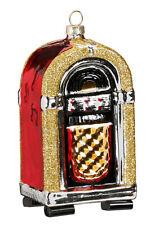 Inge Glas Weihnachtskugel Christbaumschmuck Jukebox 10cm Musikbox retro Geschenk