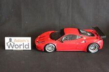 Hot Wheels Elite Ferrari 458 Italia GT2 1:18 red (PJBB)