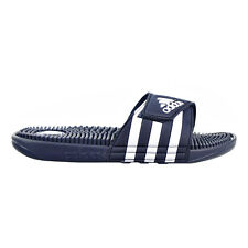 7df00fe185c9 Size 13 Men s adidas Adissage Navy Blue White Sandals Slides Slippers 078261