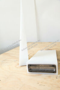 """Drywall wedge 1/8th to 2 7/8"""" thick 7"""" wide x 18"""" long with steel back plate"""