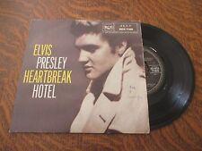 45 tours ELVIS PRESLEY WITH THE JORDANAIRES heartbreak hotel