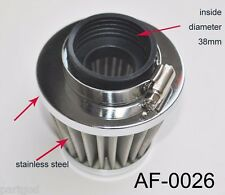 38mm air filter 125cc-250cc ATV Go kart dirt bike motorcycle fits PZ22-PZ27 carb