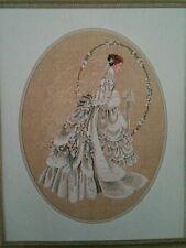 Lavender & Lace The Bride Cross Stitch Pattern L & L 9 1990 161x220