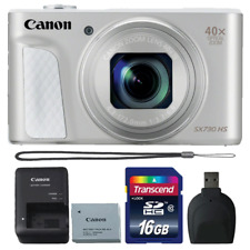 Canon Powershot SX730 HS 20.3MP Digital Camera Silver with Accessories
