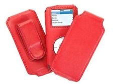 Griffin Trio 6110 - 3-in-1 Leather Case for iPod nano 1st and 2nd Gen - Fuschia