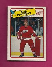 1988-89 OPC  # 181 RED WINGS BOB PROBERT ROOKIE NRMT CARD (INV# A1720)