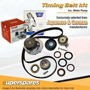 Superspares Timing Belt & Water Pump Kit for Holden Astra TS AH Barina XC Tigra