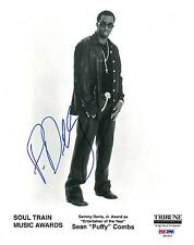 Sean P Diddy Combs Signed Authentic Autographed 8x10 Photo (PSA/DNA) #S81821