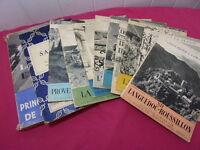 LOT LIVRES GEOGRAPHIE / 9 vols connaissance de la France - Henri Troyat