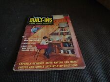 Vintage Handyman Books of Built-Ins Woodworking Mid-Century Modern