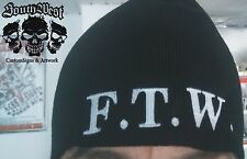 FTW  Mütze Beanie Strickmütze  Biker Harley DAVIDSON  Skinhead