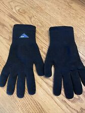 SealSkinz All Weather Ultra Grip Full Finger Knitted Gloves Size LARGE Preowned
