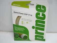 **NEW** LOT OF 4 SETS: PRINCE HYBRID POWER EXP 17/16 POLY/MULTI TENNIS STRING