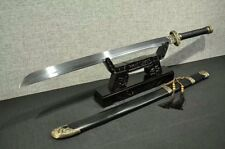 Top Grade Broadsword DaDao Sword Sharp Damascus Steel Blade Copper Fitting Full