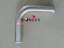 "2.5"" 63mm 90 degree Aluminum Turbo Intercooler Pipe Piping Tube Tubing L=600mm"