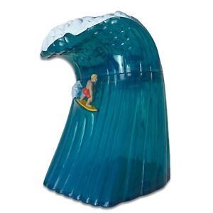 "Surfin USA Crashing Wave 9"" 3D Musical Beach Boys / Chuck Berry 2003 Cookie Jar"