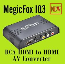 New Composite, S-Video, and HDMI® to HDMI® Converter and Switch w/ HDMI PAL NTSC