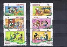 Serie Disney postfris MNH Lesotho: Mickey Goofy Donald (dis016)